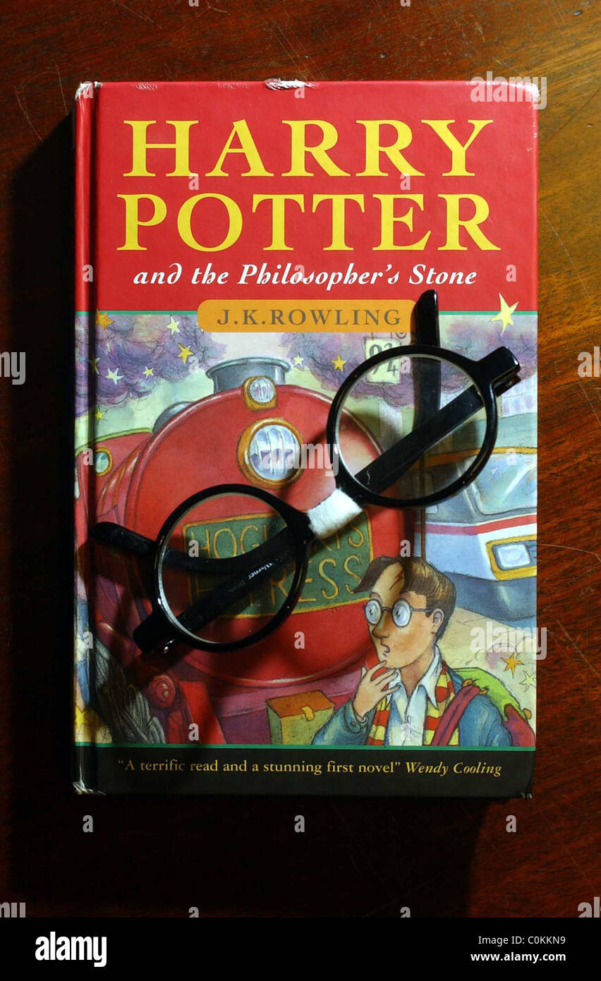 Rare First Edition Of Jk Rowling 39 S Harry Potter And The