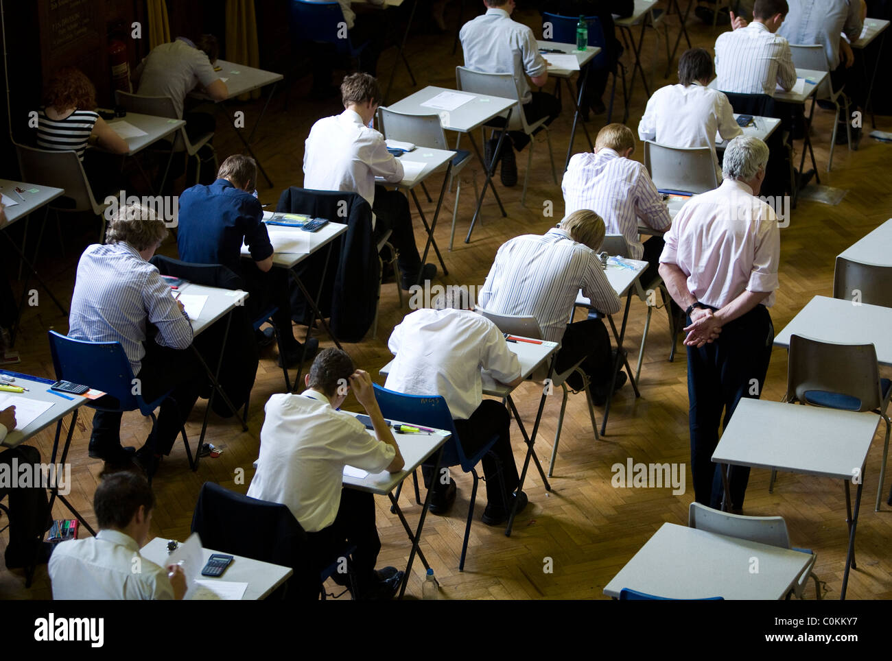 school essay examination hall A test or examination  france require all their secondary school students to take a standardized test on individual  may be done in a large hall,.