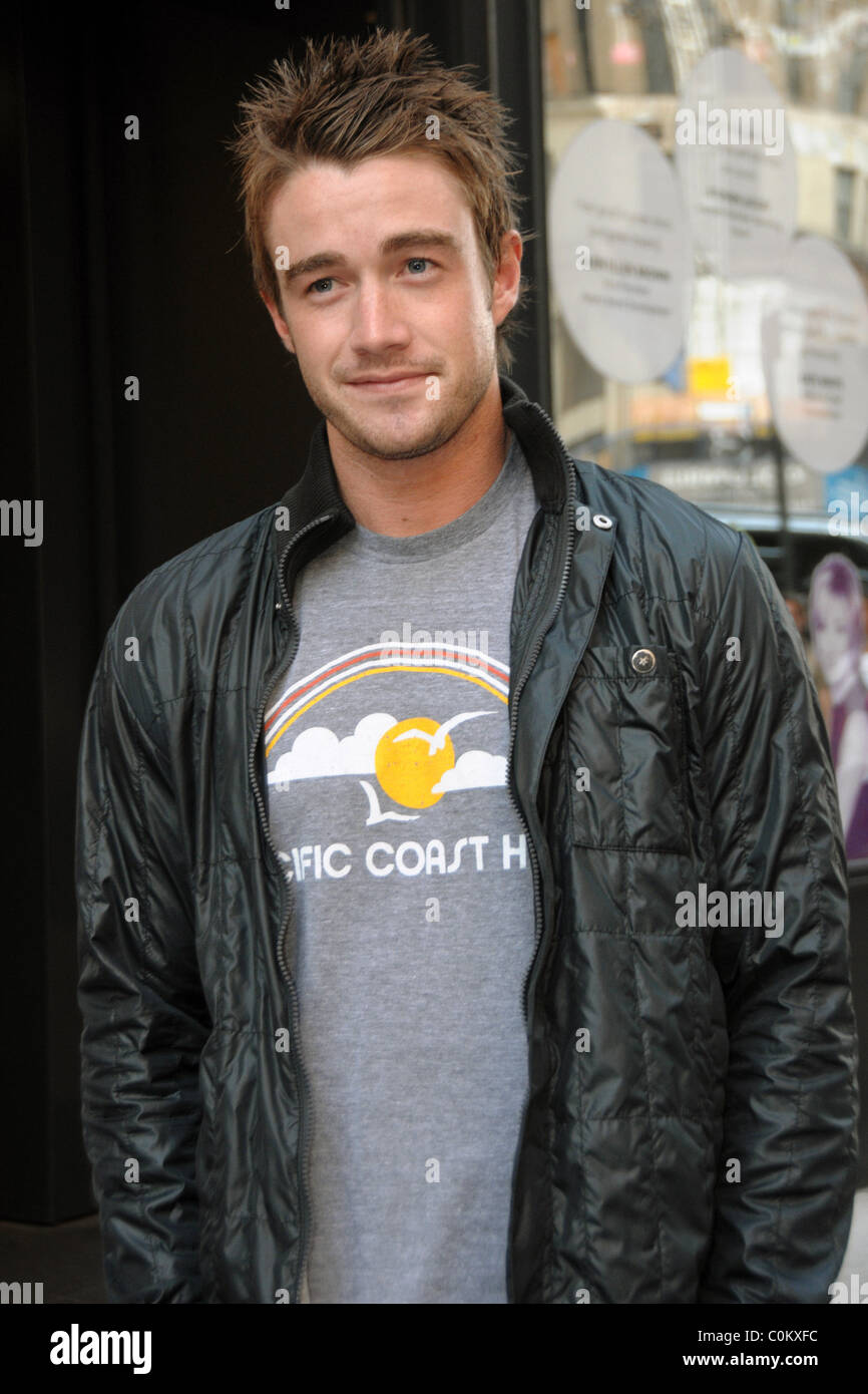 "House Bunny Characters within robert buckley screening of ""house bunny"" - outside arrivals at"