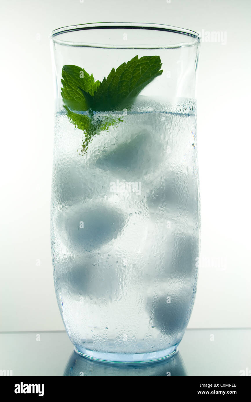 Water Condensation on Ice Cold Water Glass Stock Photo ...