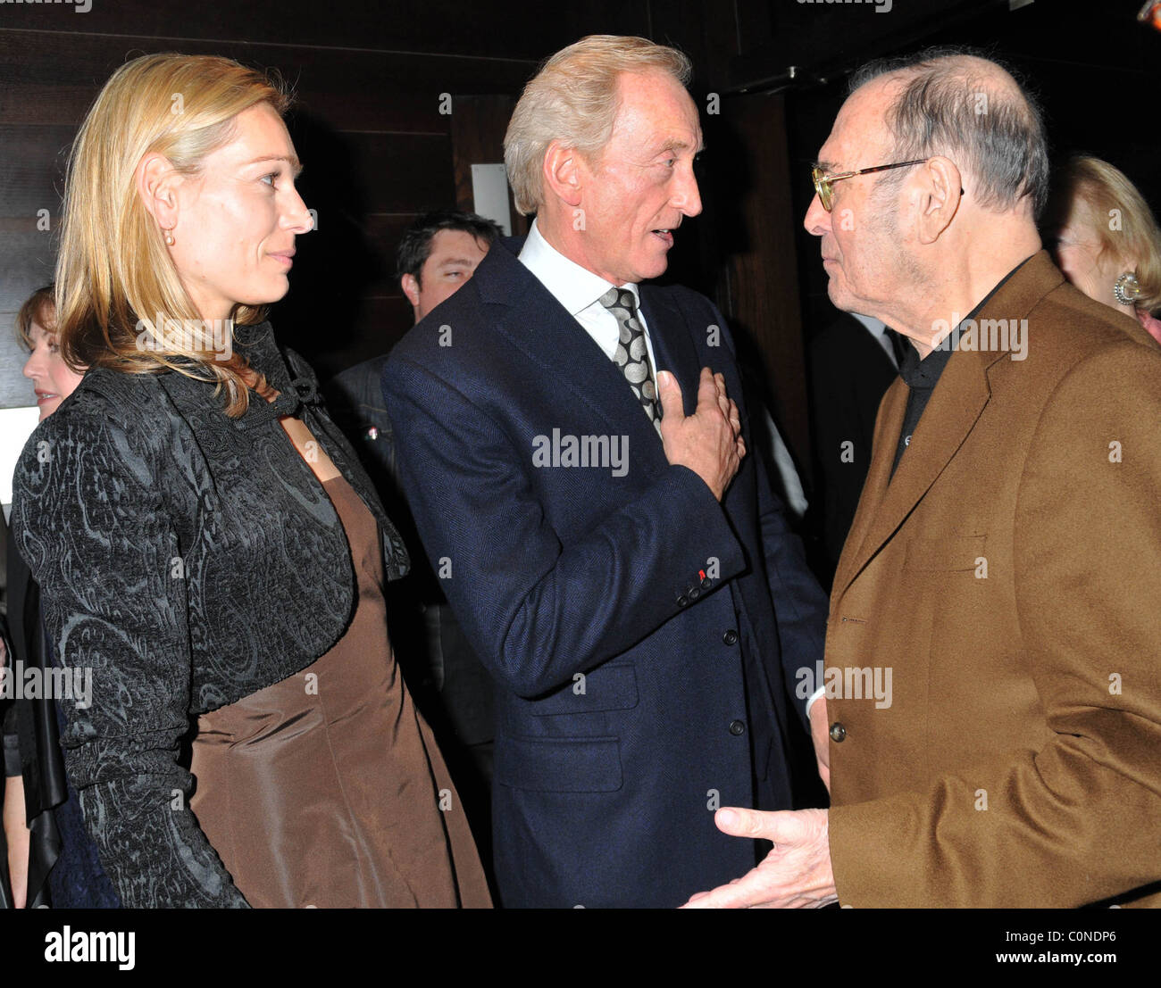 Charles Dance and Eleanor Boorman and Harold Pinter ...