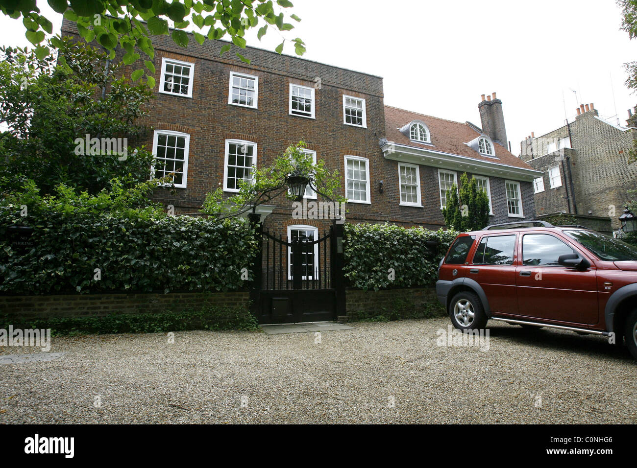 george michael 39 s house in highgate london england october 2008