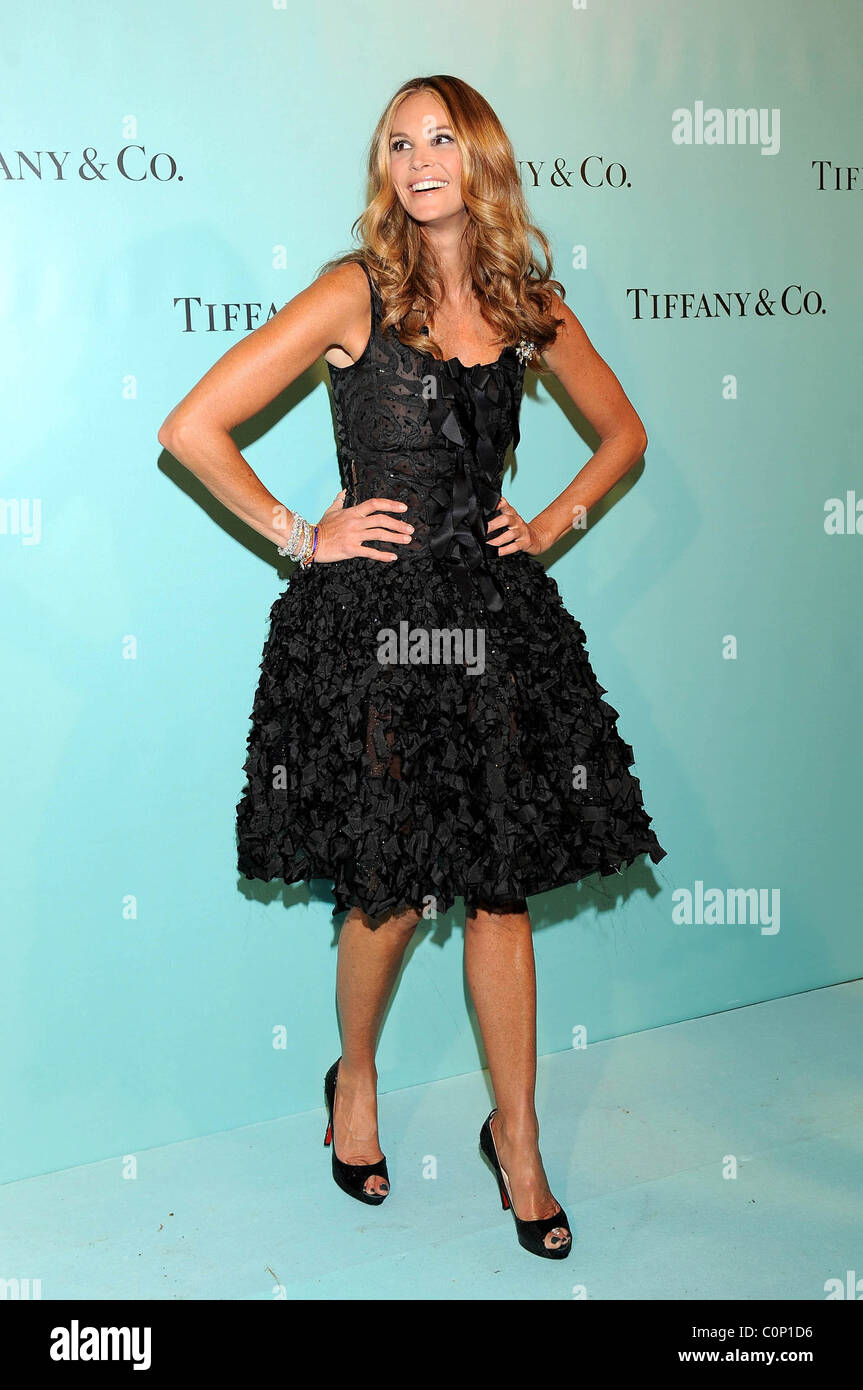 Stock Photo Elle Macpherson Launch Party To Celebrate The Opening Of The New Tiffany 34904834 Tiffany Spain Jewelry