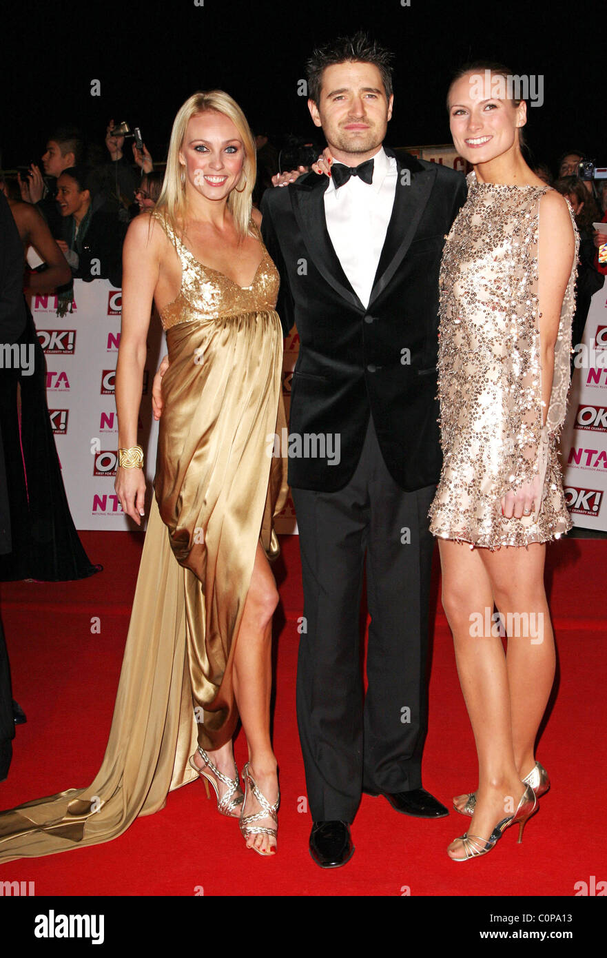Camilla Dallerup Tom Chambers and Claire Harding National