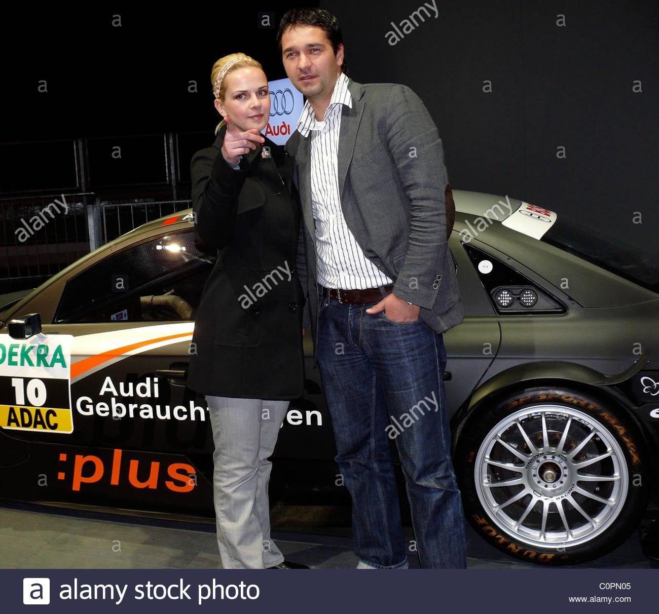 Denise Zich Andreas Elsholz Audi Q5 Premiere At Velodrom