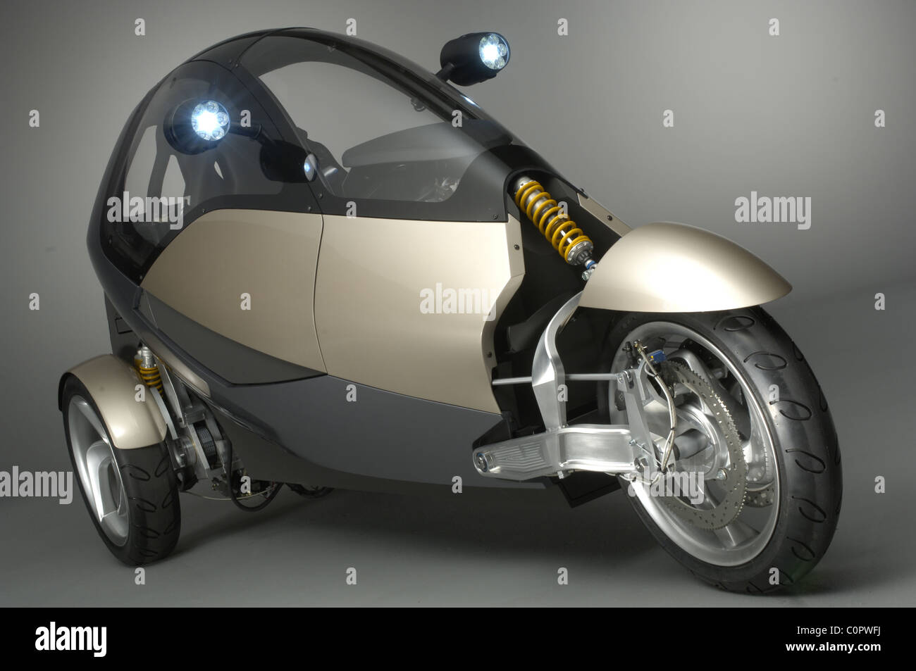 Car Designers Box Clever It Looks Like A Space Age Sinclair C5