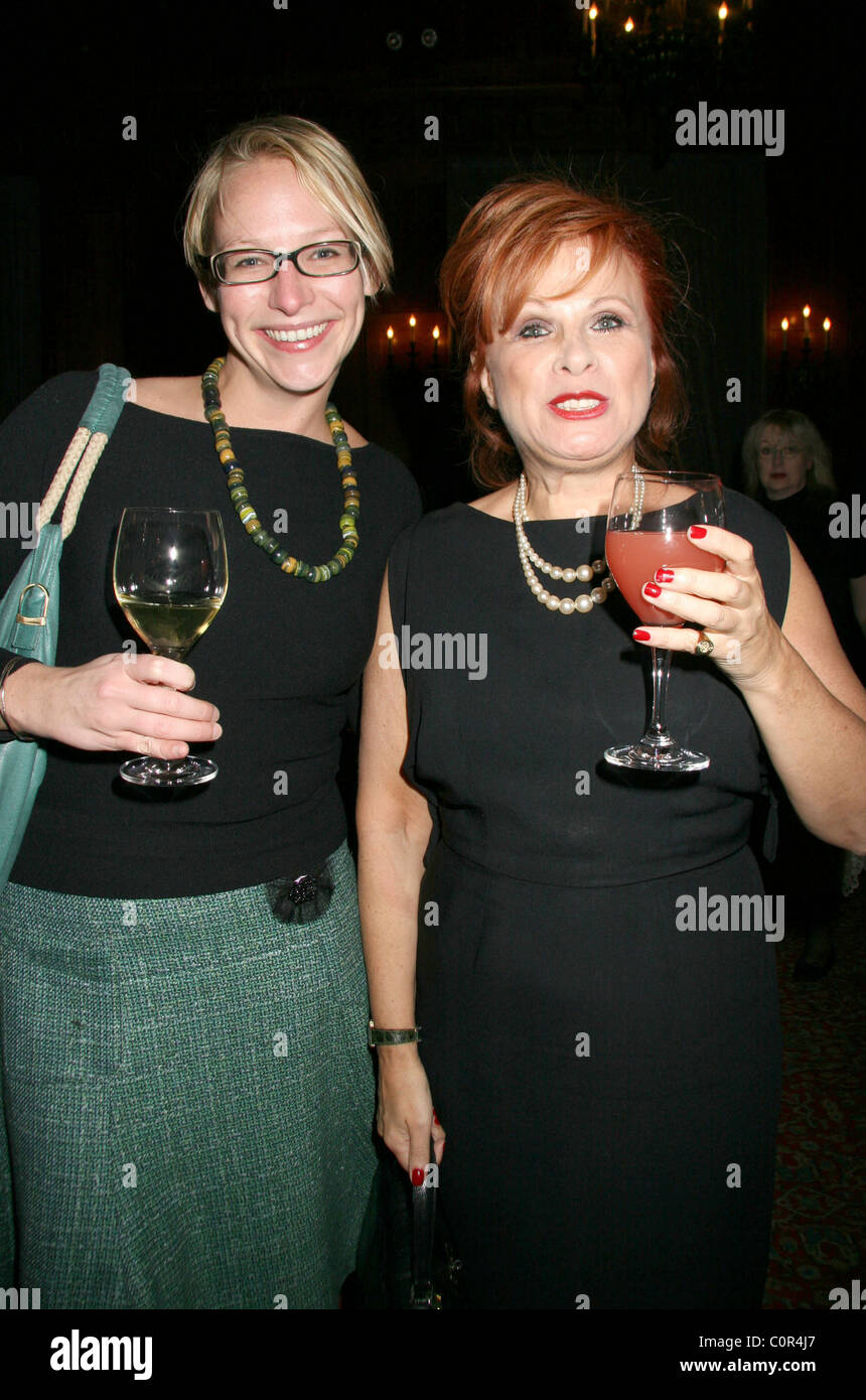 Stock Photo  Tricia Boczkowski And Wendy Leigh At A Party For Alec  Baldwin's Book 'a Promise To Ourselves,' Held At The Harmonie Club New