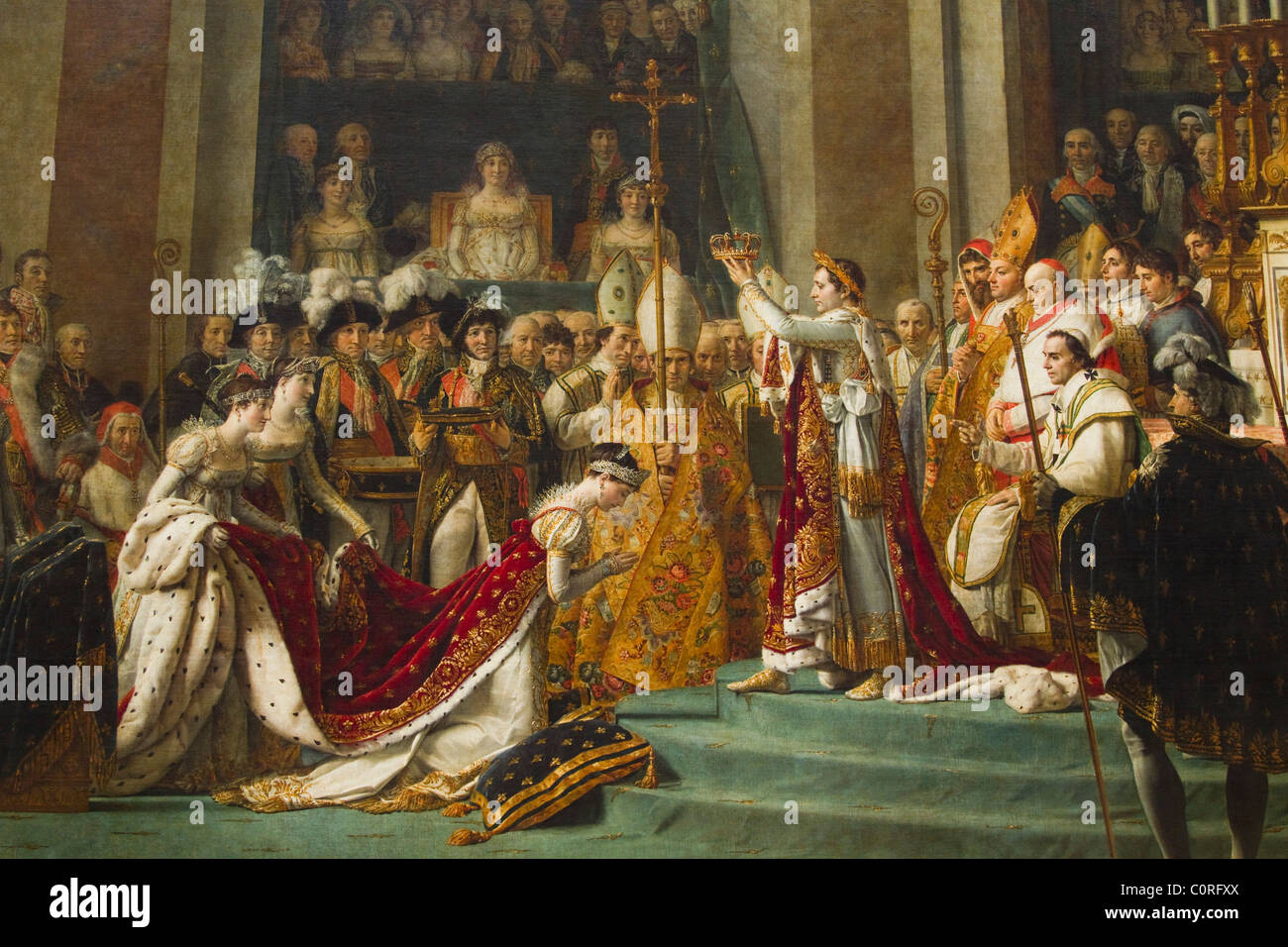 Painting Of Coronation Of Napoleon In A Museum Musee Du