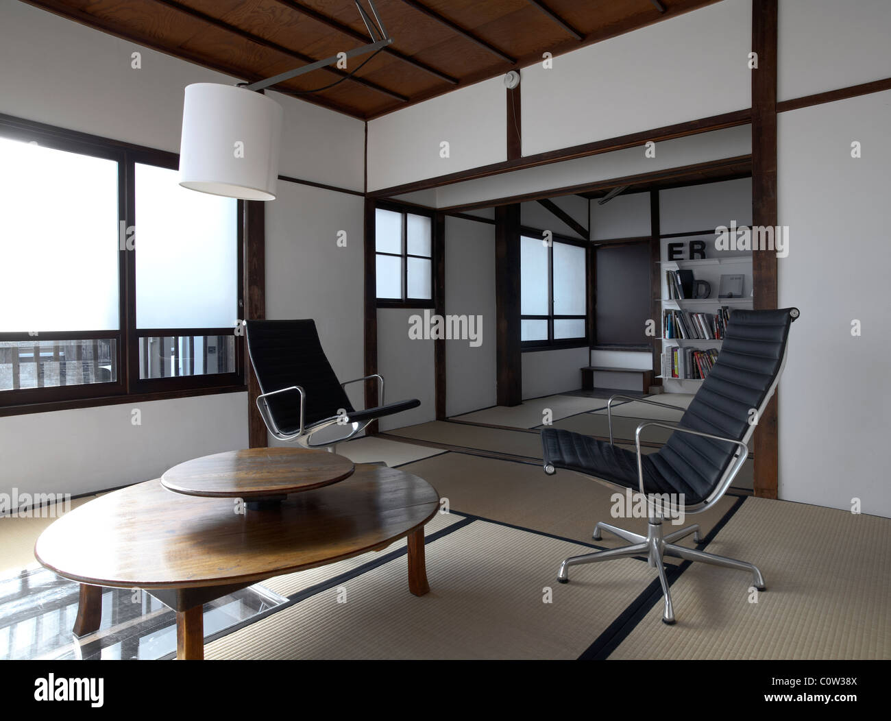 Japanese Living Room Japanese Style Modern Living Room Tatami Mats On Floor Blinds
