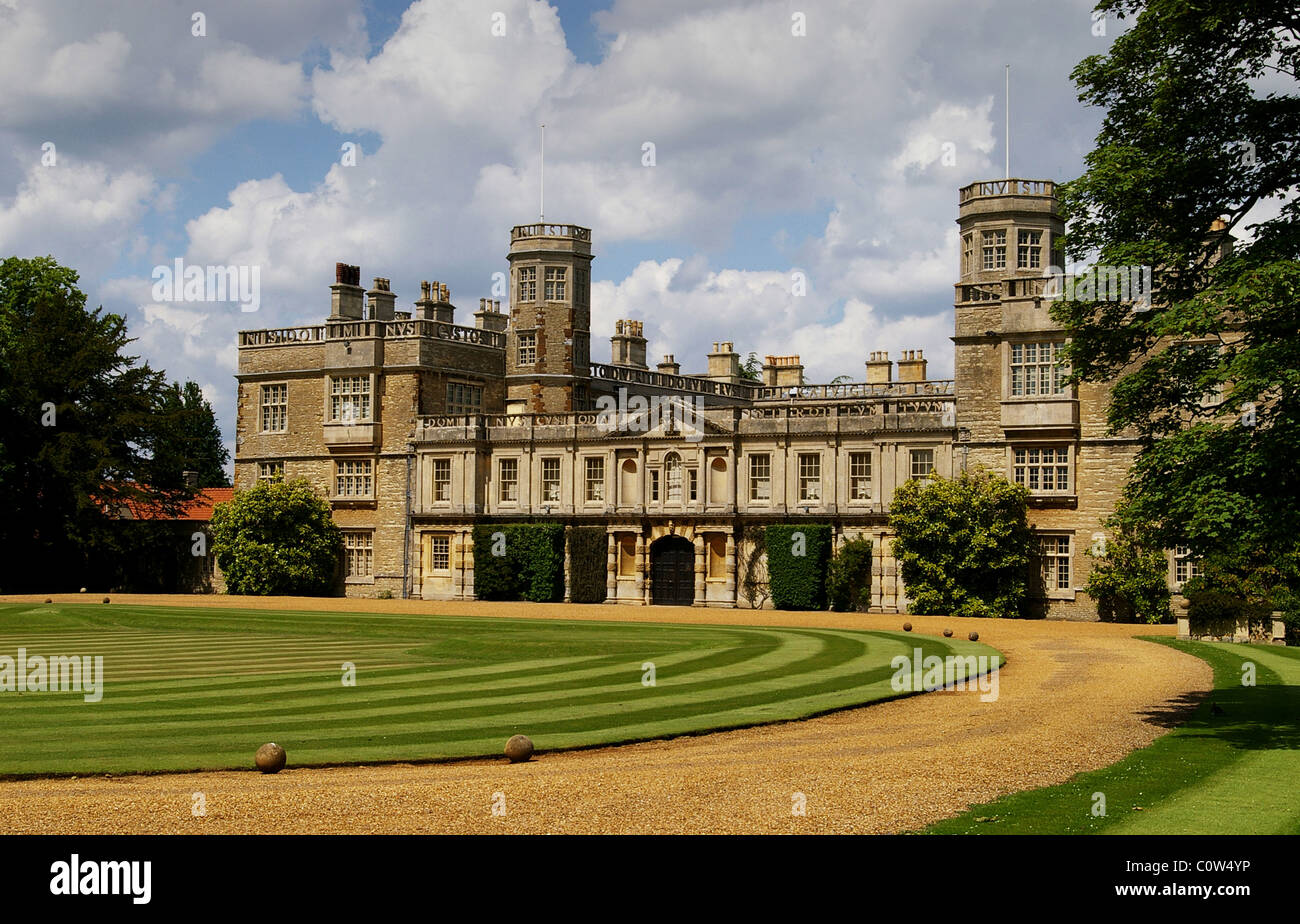 Castle ashby a stately home in northamptonshire uk stock for Ashby house