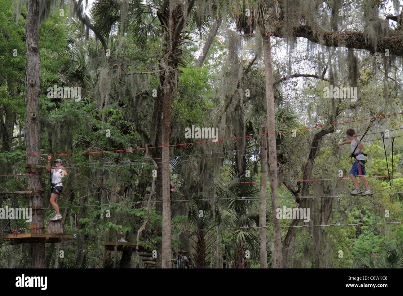 Florida Orlando Sanford Central Florida Zoo And Botanical Gardens Stock Photo Royalty Free