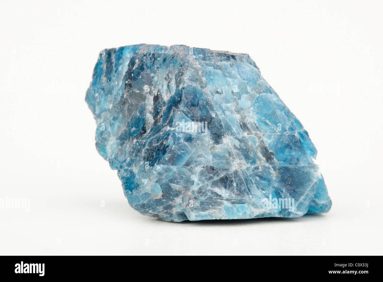 Phosphate Mineral rock sample Apatite from Madagascar Stock Photo ...