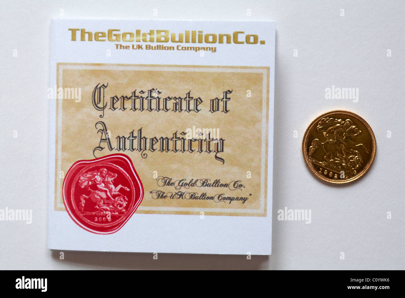 Certificate Of Authenticity Stock Photos Certificate Of
