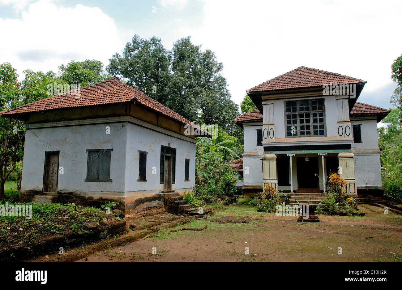80 years old nayar house in attur kerala stock photo for Classic house 80s