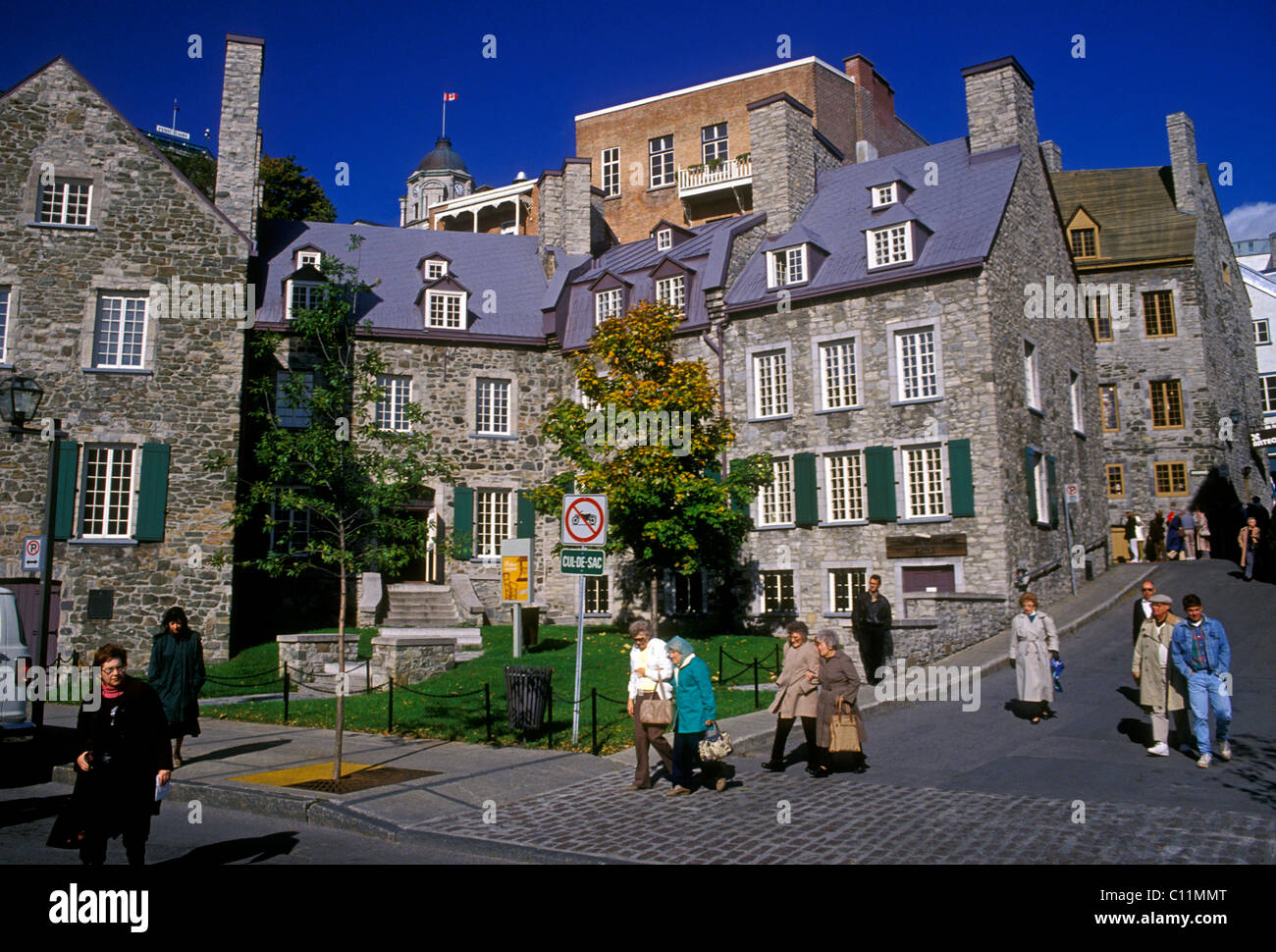 Maison Chevalier Quebec City Quebec Province Canada North America Stock Photo Royalty Free