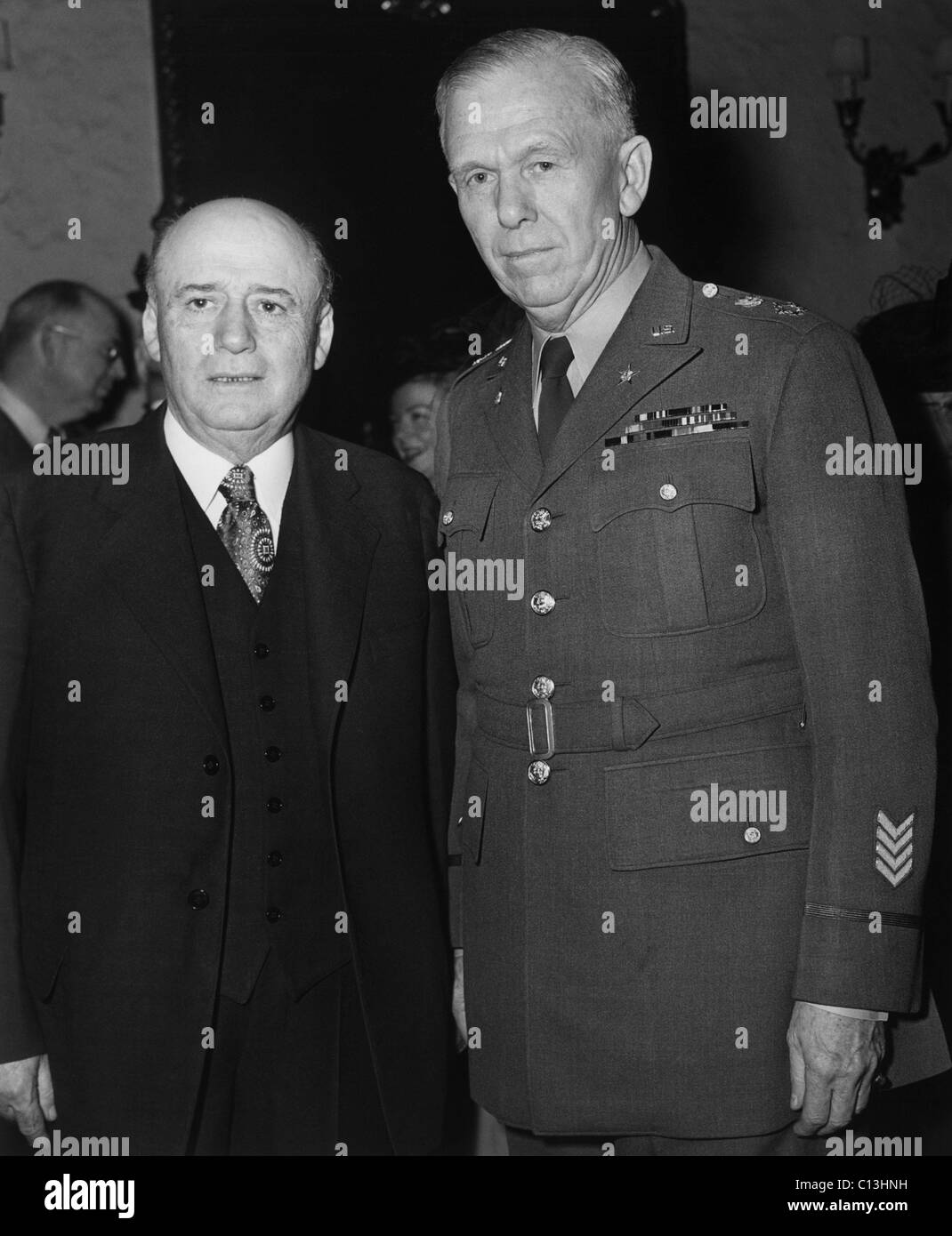 General george c marshall quotes - House Speaker Sam Rayburn With General Of The Army George C Marshall At