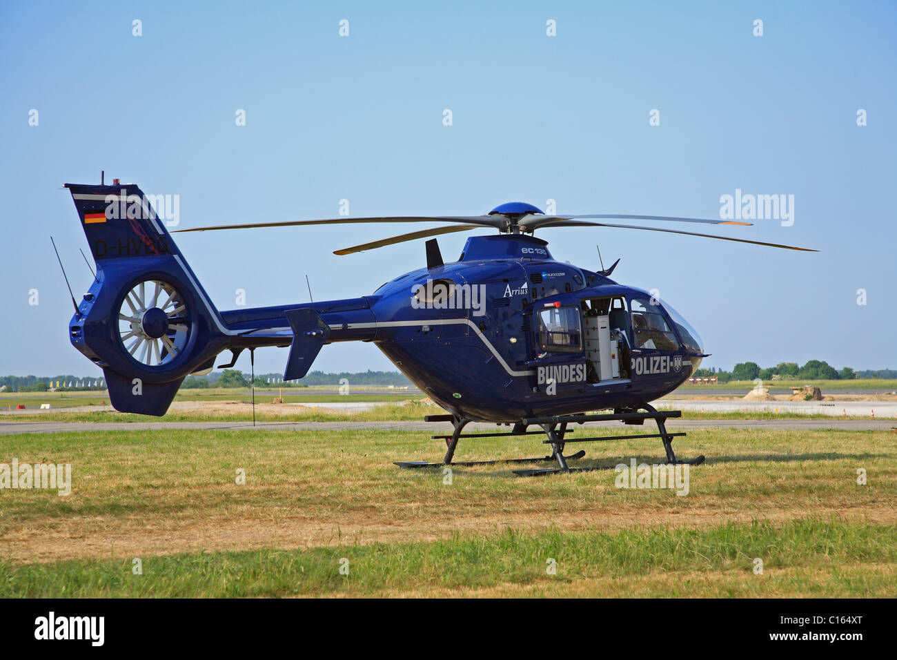 Elicottero Ec 135 : Eurocopter ec helicopter of german federal police