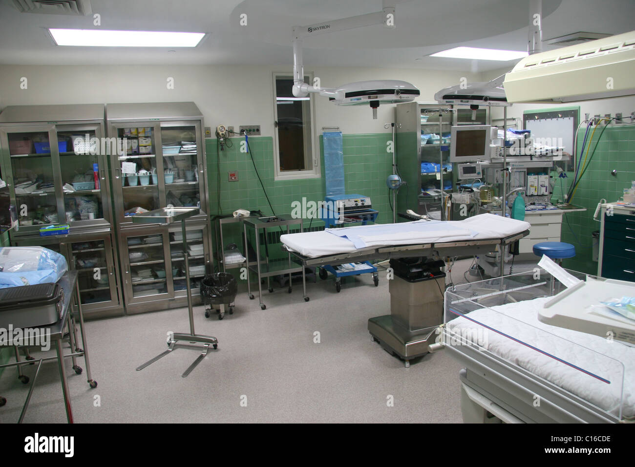 The surgical delivery room at Baystate Franklin Medical Center in ...