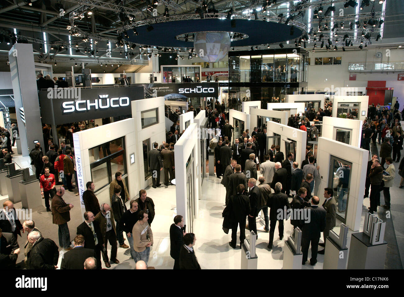 Schüco München exhibition stand of the company schueco international kg at the