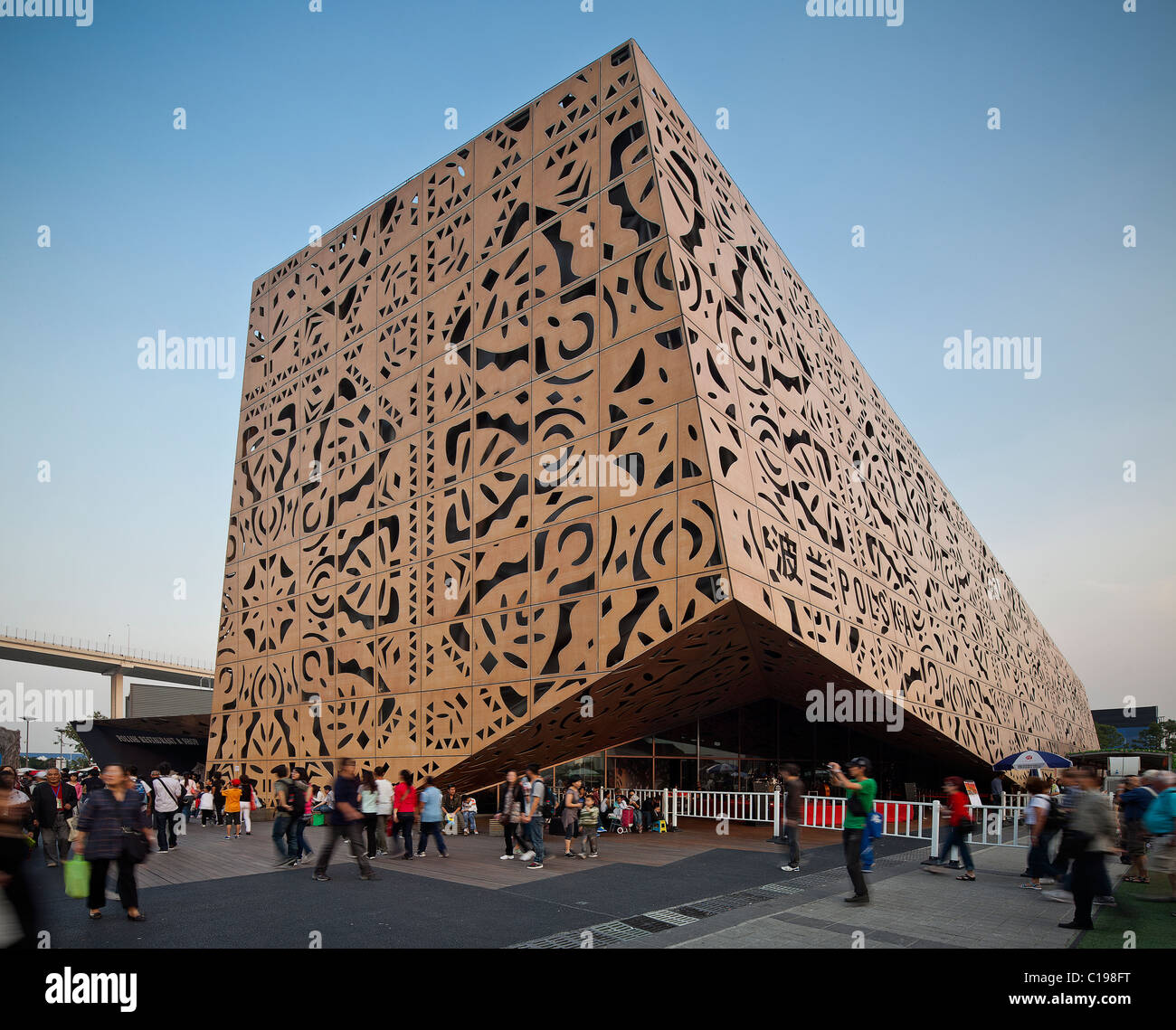 Shanghai World Expo 2010, China, Poland pavilion Stock Photo ...