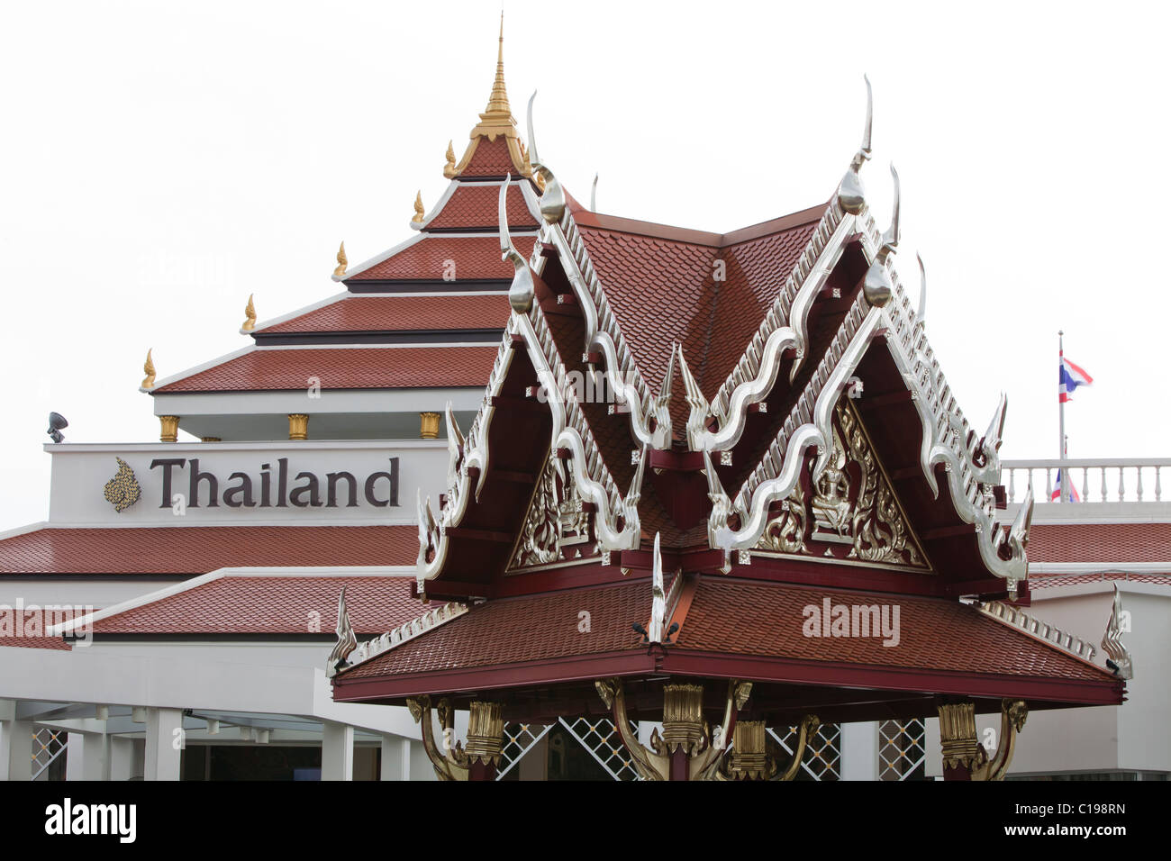 Shanghai World Expo 2010, China, Thailand Pavilion Stock Photo ...