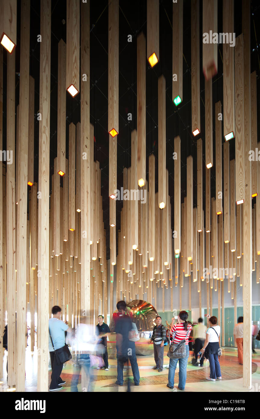 Shanghai World Expo 2010, China, Hungary pavilion Stock Photo ...