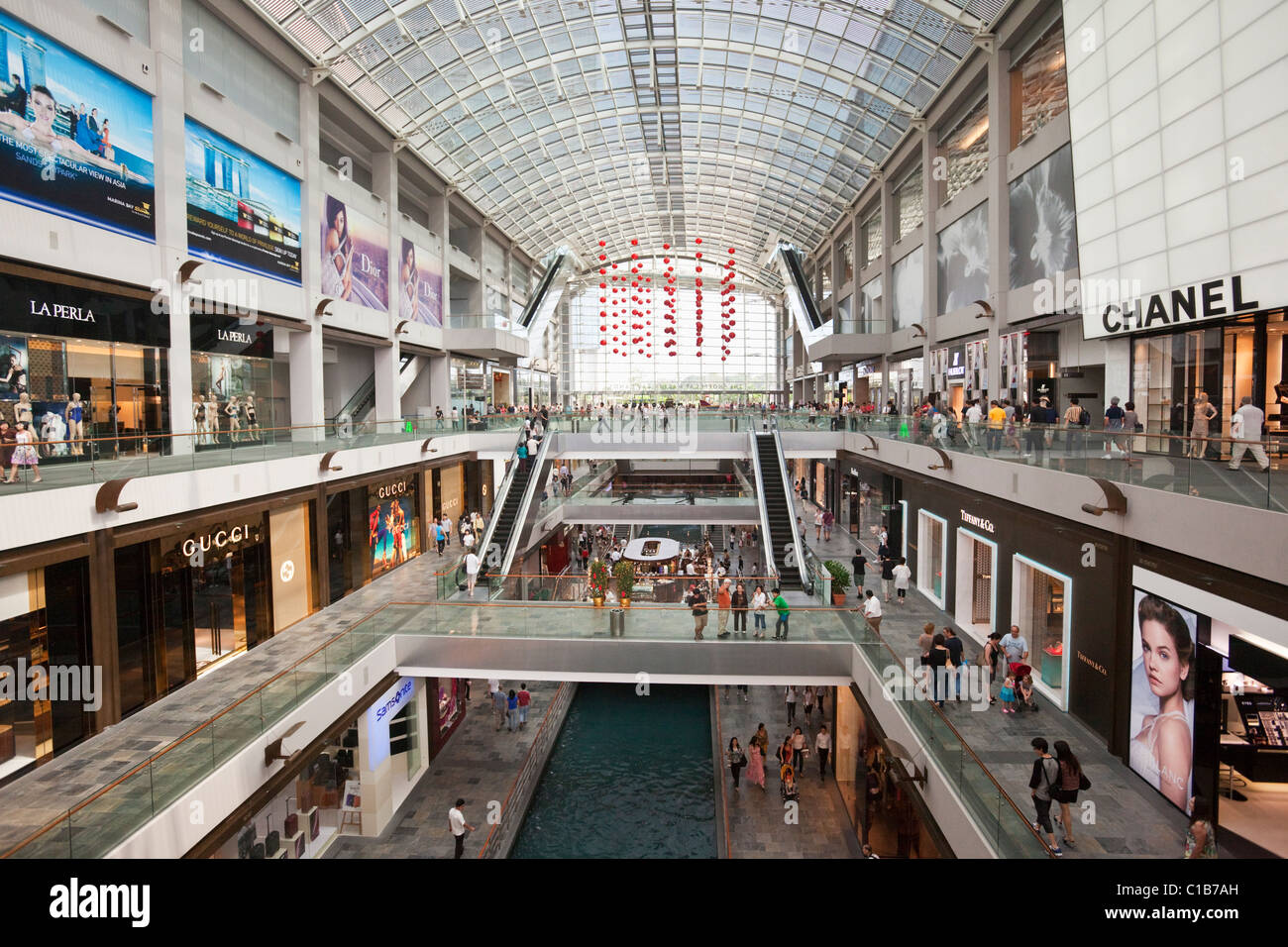 The Shoppes at Marina Bay Sands - a shopping mall in the ...