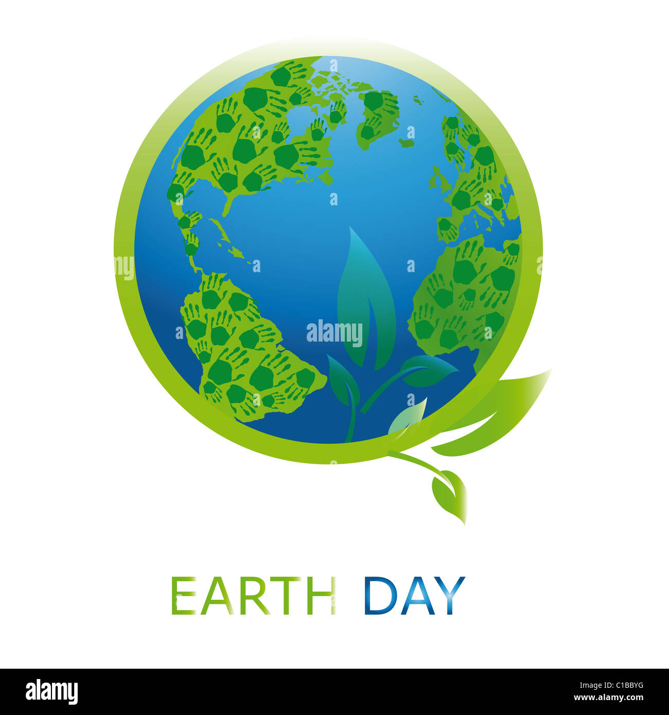 Planet symbol on earth day stock photo royalty free image planet symbol on earth day buycottarizona