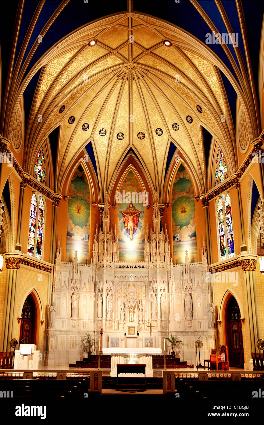 """the architecture of st """"like living stones, let yourselves be built into a spiritual house""""~1 peter 25 since 1869, before the columbian exposition and the foundation of the university of chicago, saint thomas."""