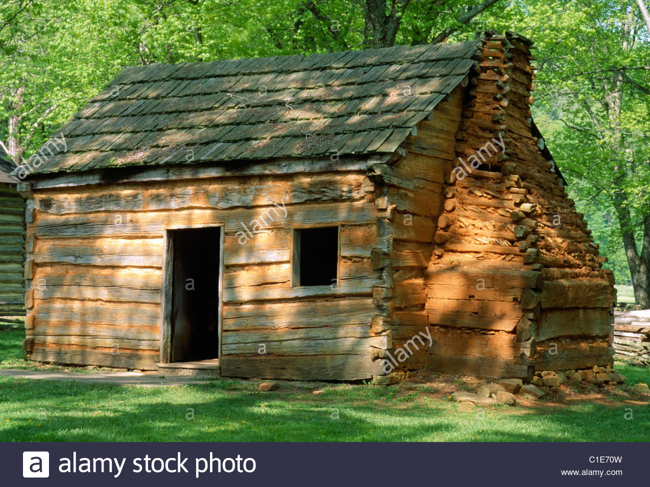 Lincoln Log Cabin ~ Abraham lincoln s boyhood home near hodgenville kentucky