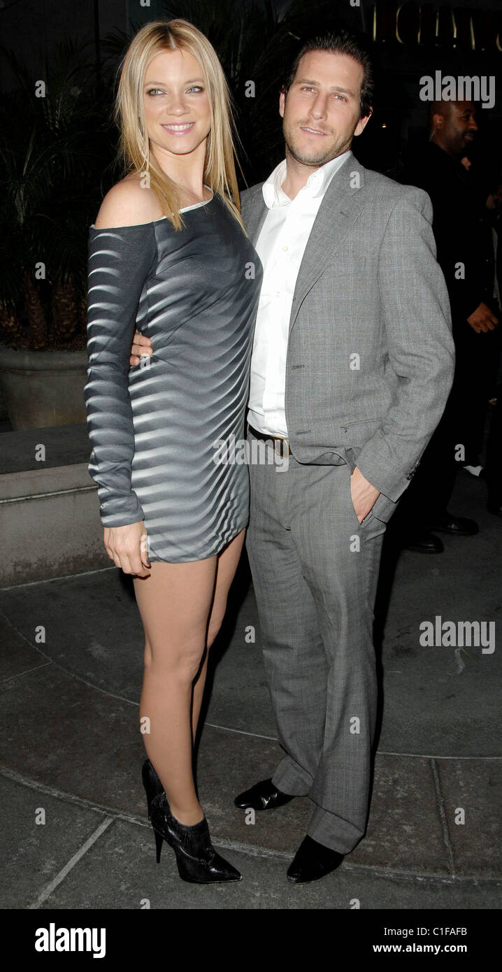 Amy Smart and Brandon Williams Los Angeles Premiere of Love N