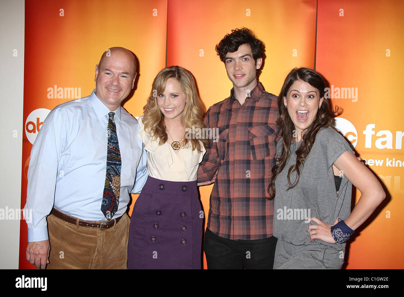 Lindsey Shaw And Ethan Peck Larry Miller, Meaghan ...