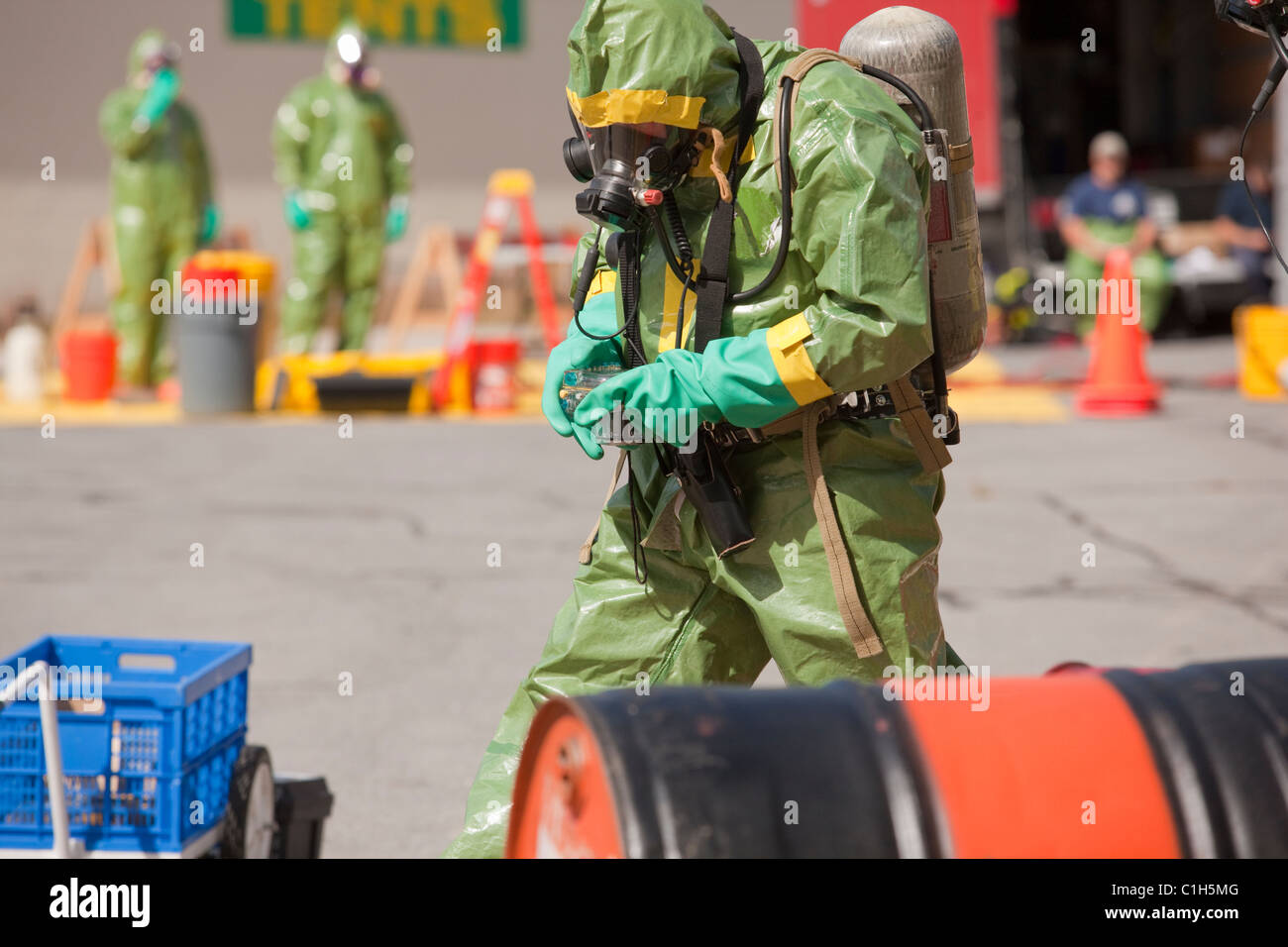 Hazmat Working