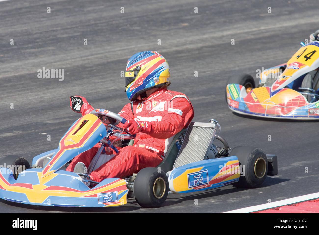 Circuito Fernando Alonso : Circuito de karting fernando alonso prueba asfalto en