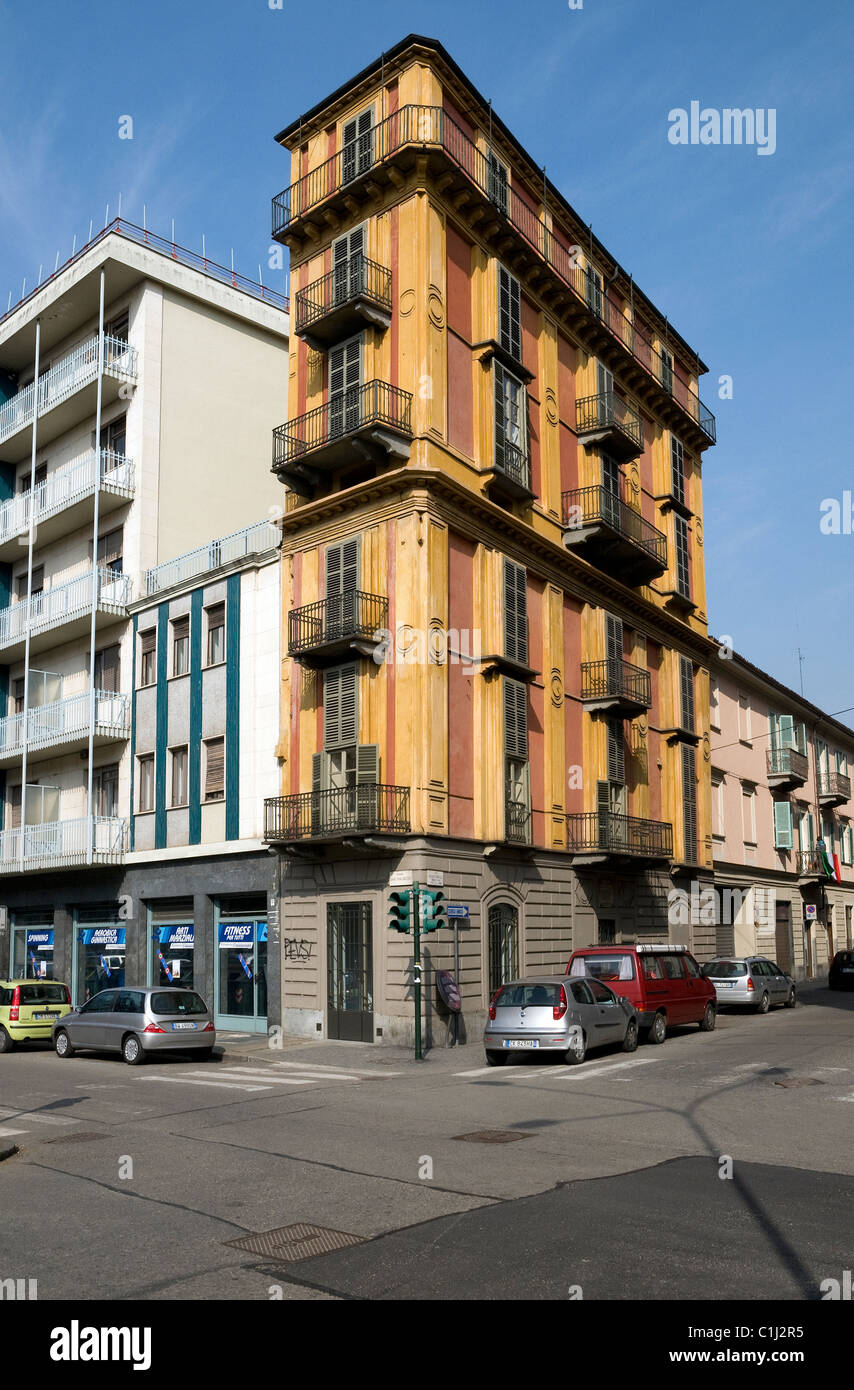Turin City Centre Apartment Building, Italy