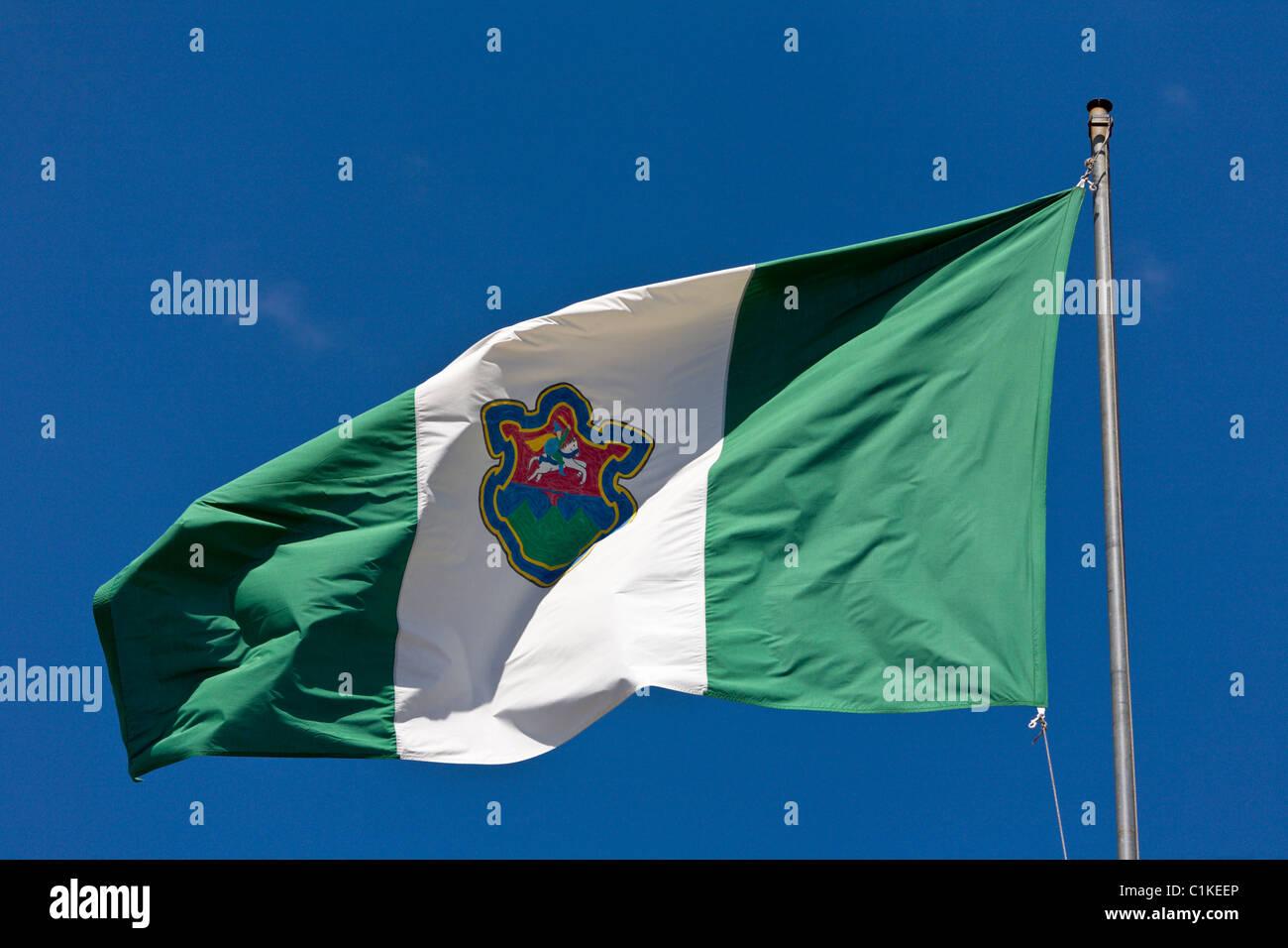 Flag of Antigua Guatemala Stock Photo Royalty Free Image
