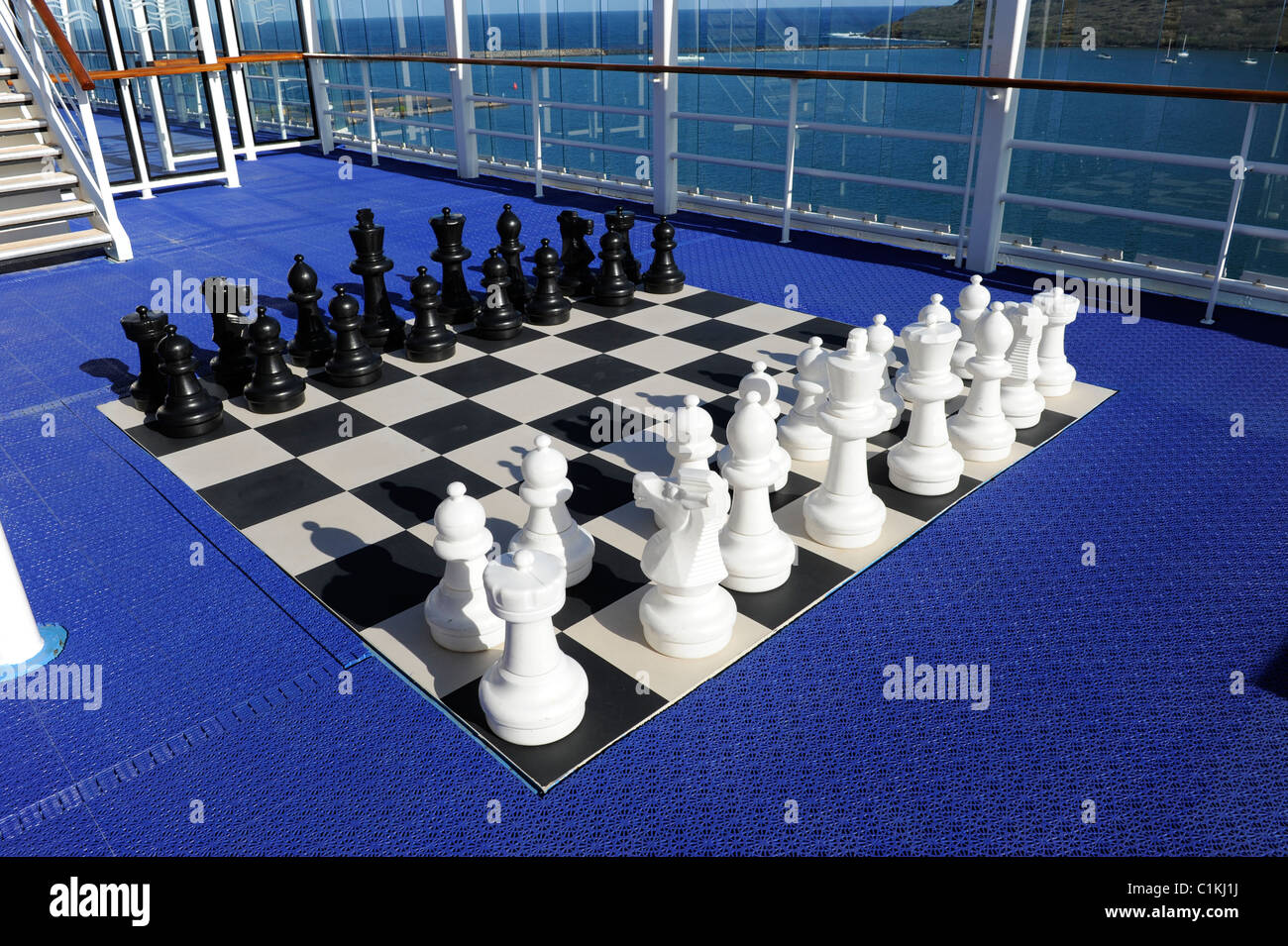Large Chess Board Norwegian Cruise Line Pride Of America Ship - Pride of america cruise ship hawaii