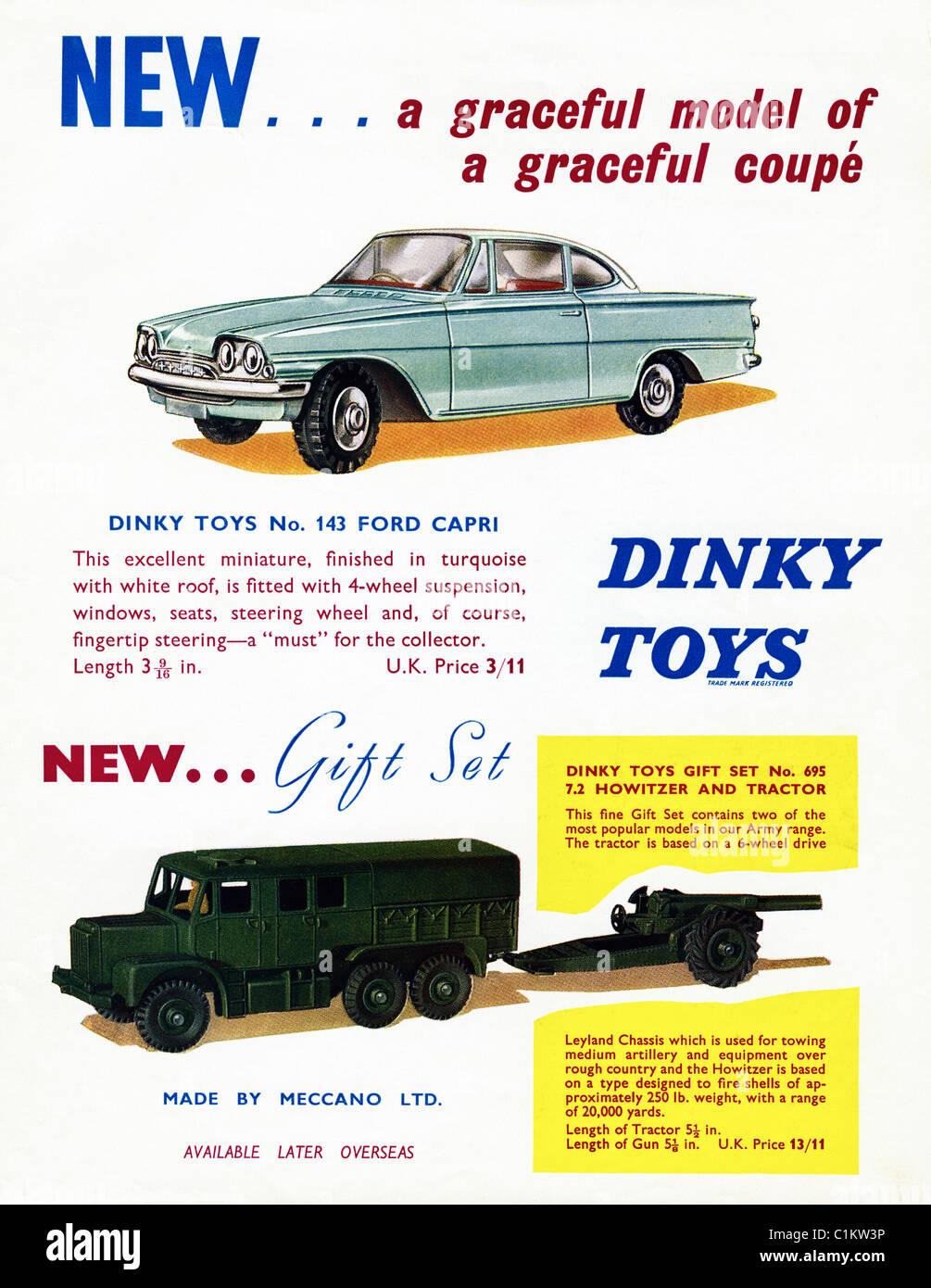 Toys For Boys Magazine : Original advert in s boy hobby magazine for dinky