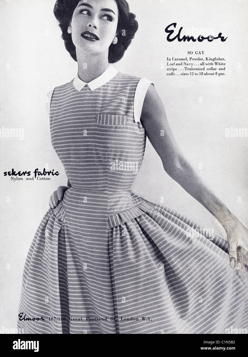 Original Full Page 1950s Advert In Women 39 S Fashion