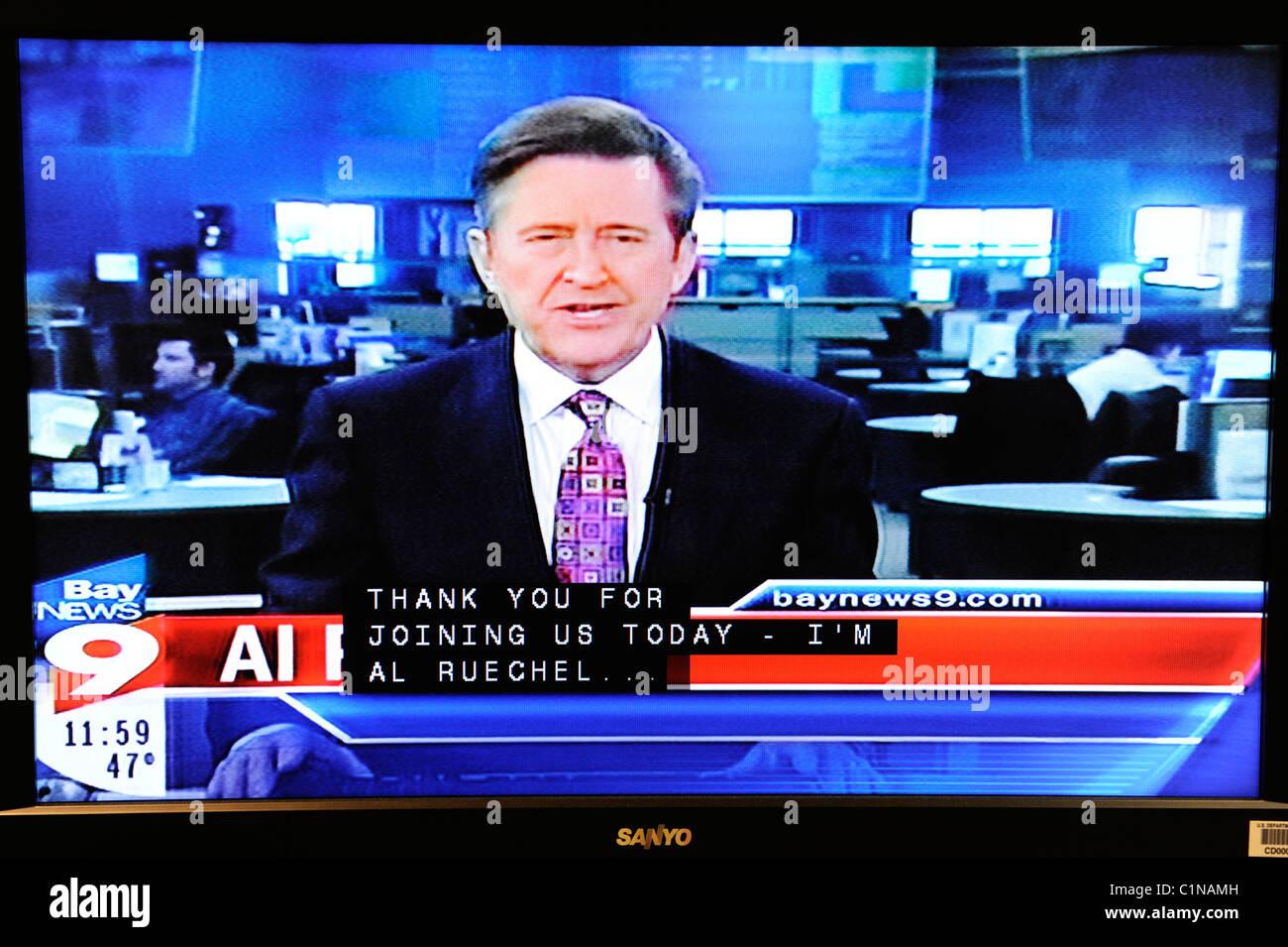 Tv Weather Forecast Stock Photos Tv Weather Forecast