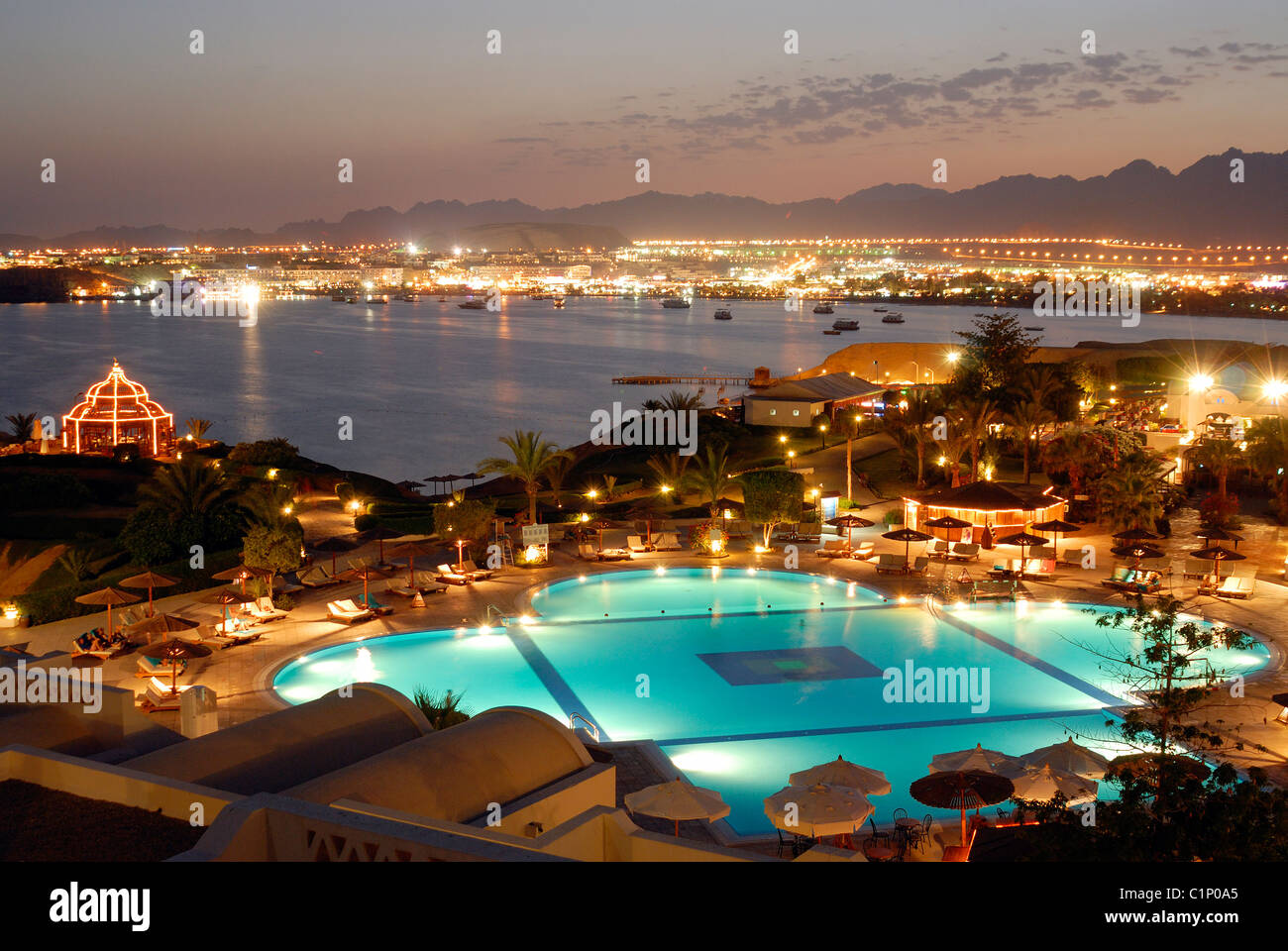 Naama bay in sharm el sheikh