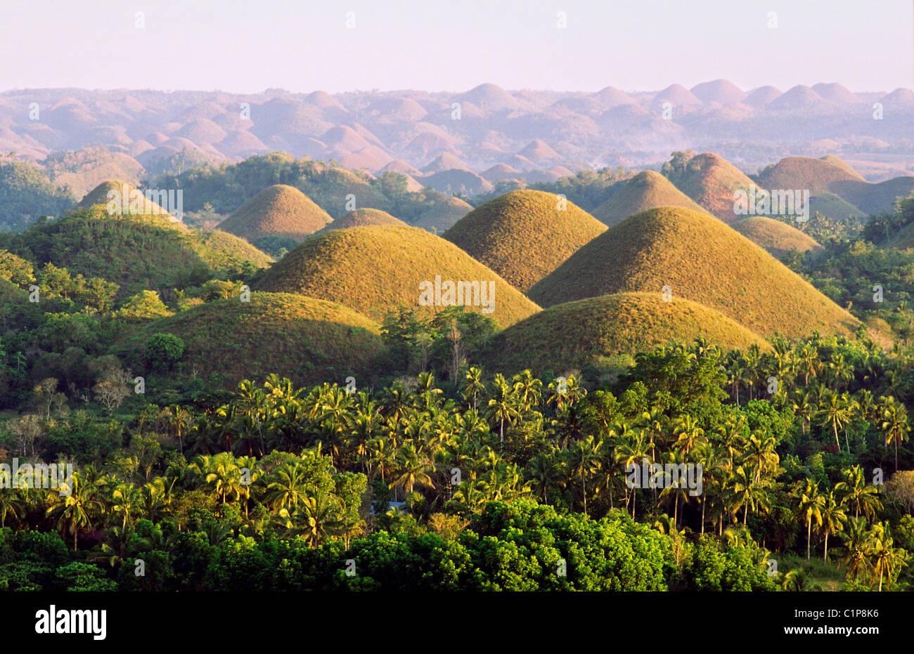 Chocolate Hills Bohol Visayas Philippines Stock Photos & Chocolate ...