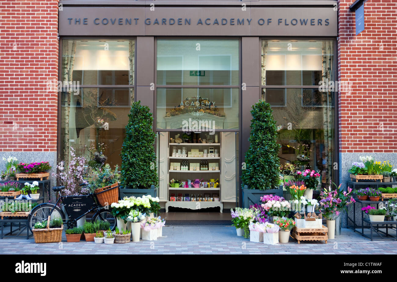 The covent garden academy of flowers a flower shop and for Hobo designs covent garden