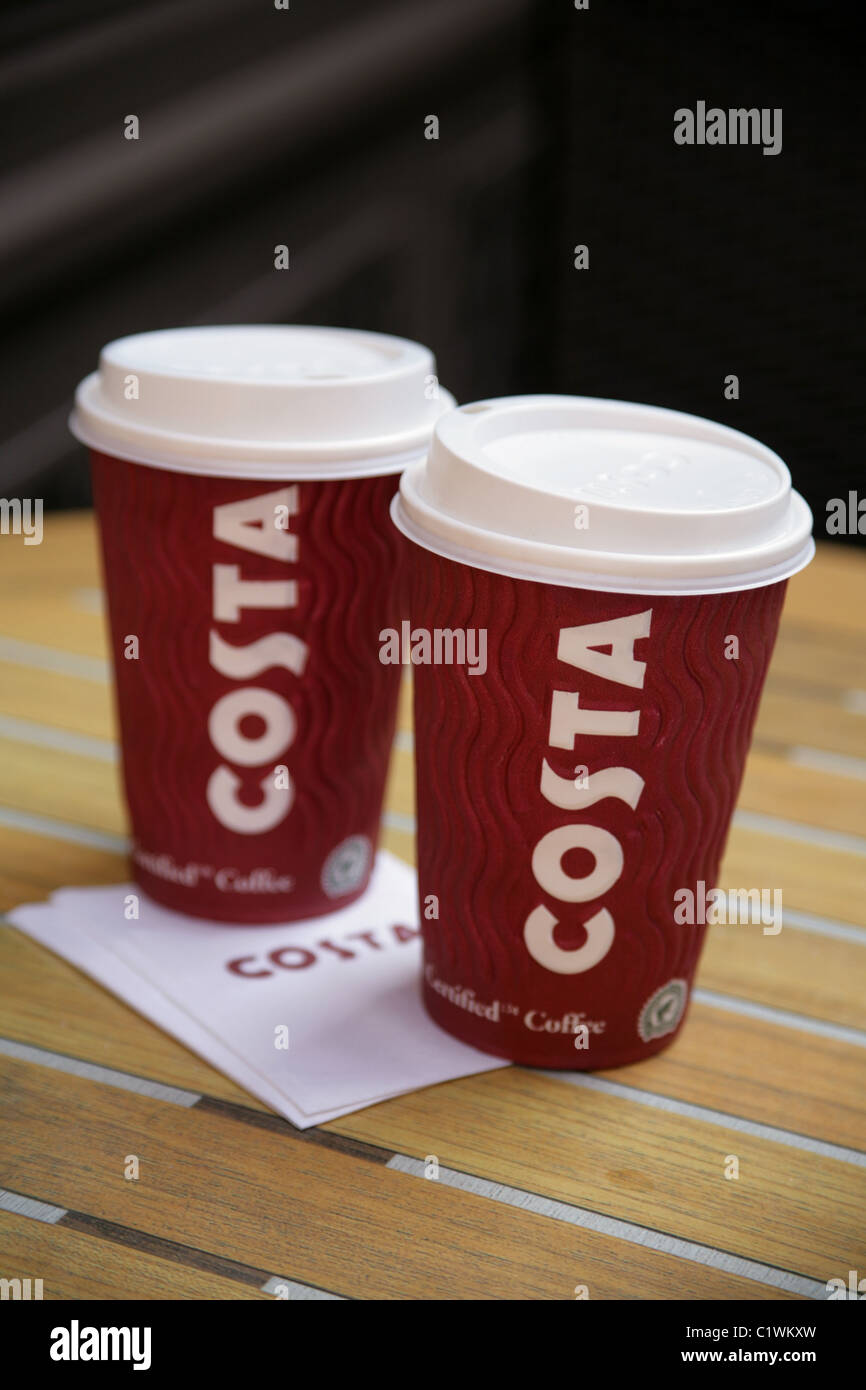 Buy Costa Coffee Paper Cups