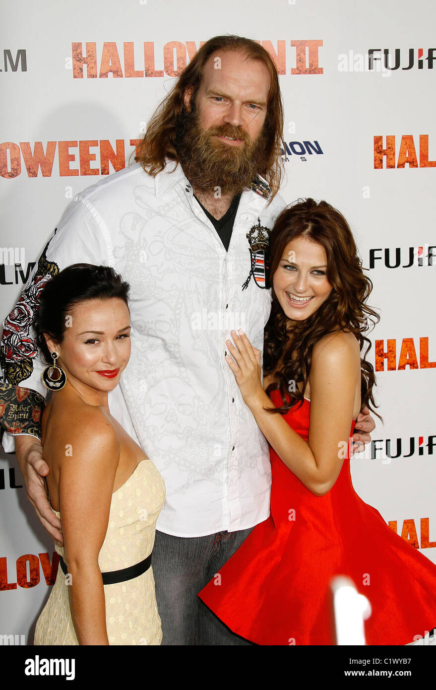 Danielle Harris, Tyler Mane and Scout Taylor-Compton Los Angeles ...