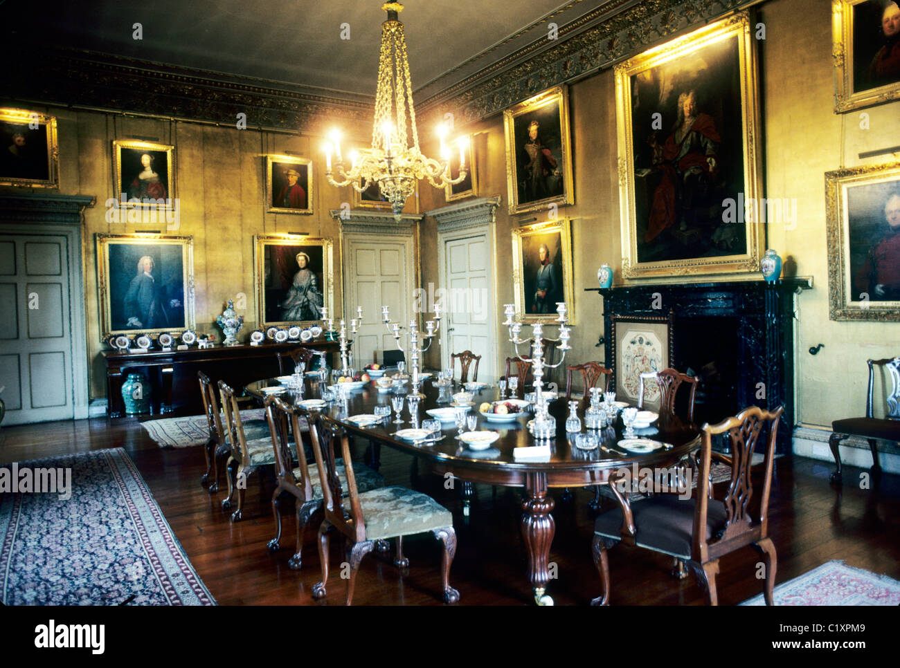 Hopetoun House, Interior, Scotland Scottish Stately Home Homes Dining Room  UK Part 53
