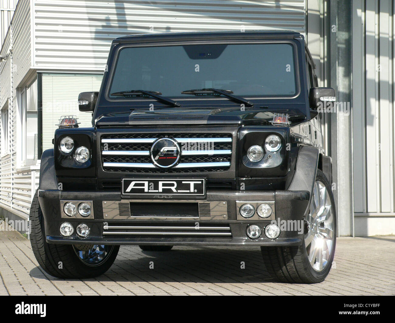 one-off mercedes benz g55 amg to escort the royal convoy of abu