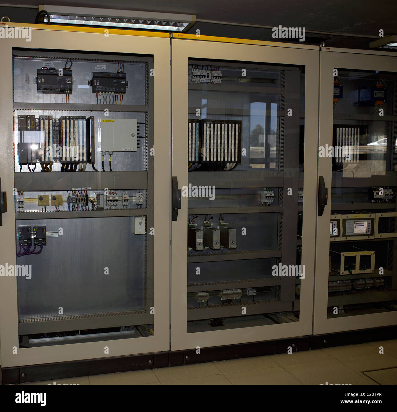 Control Panel, Board, Room, Electrical, Electricity