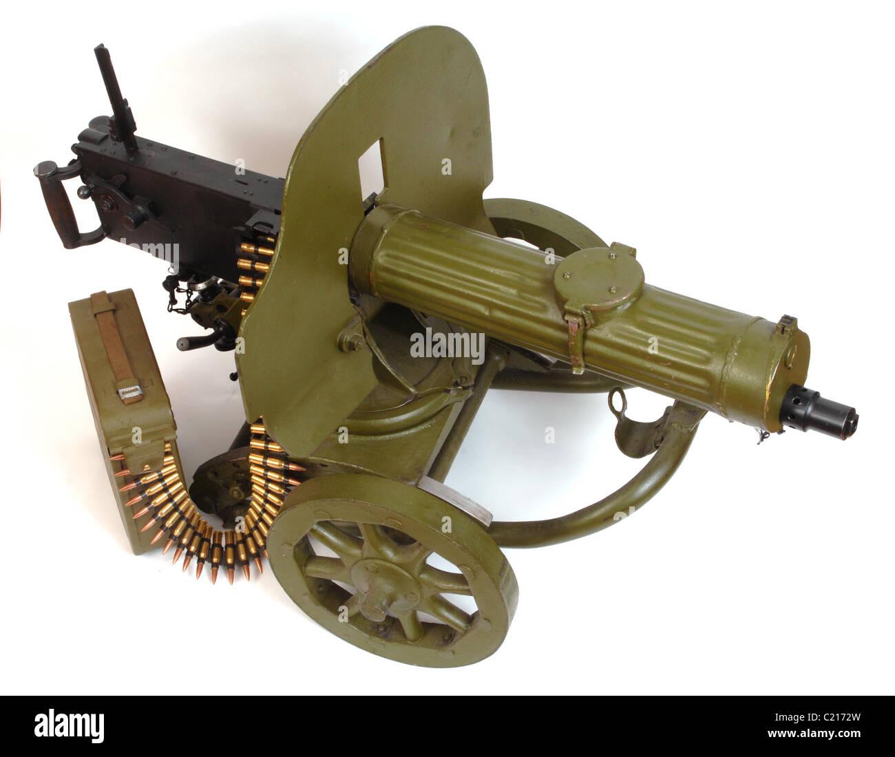 russian belt fed machine gun
