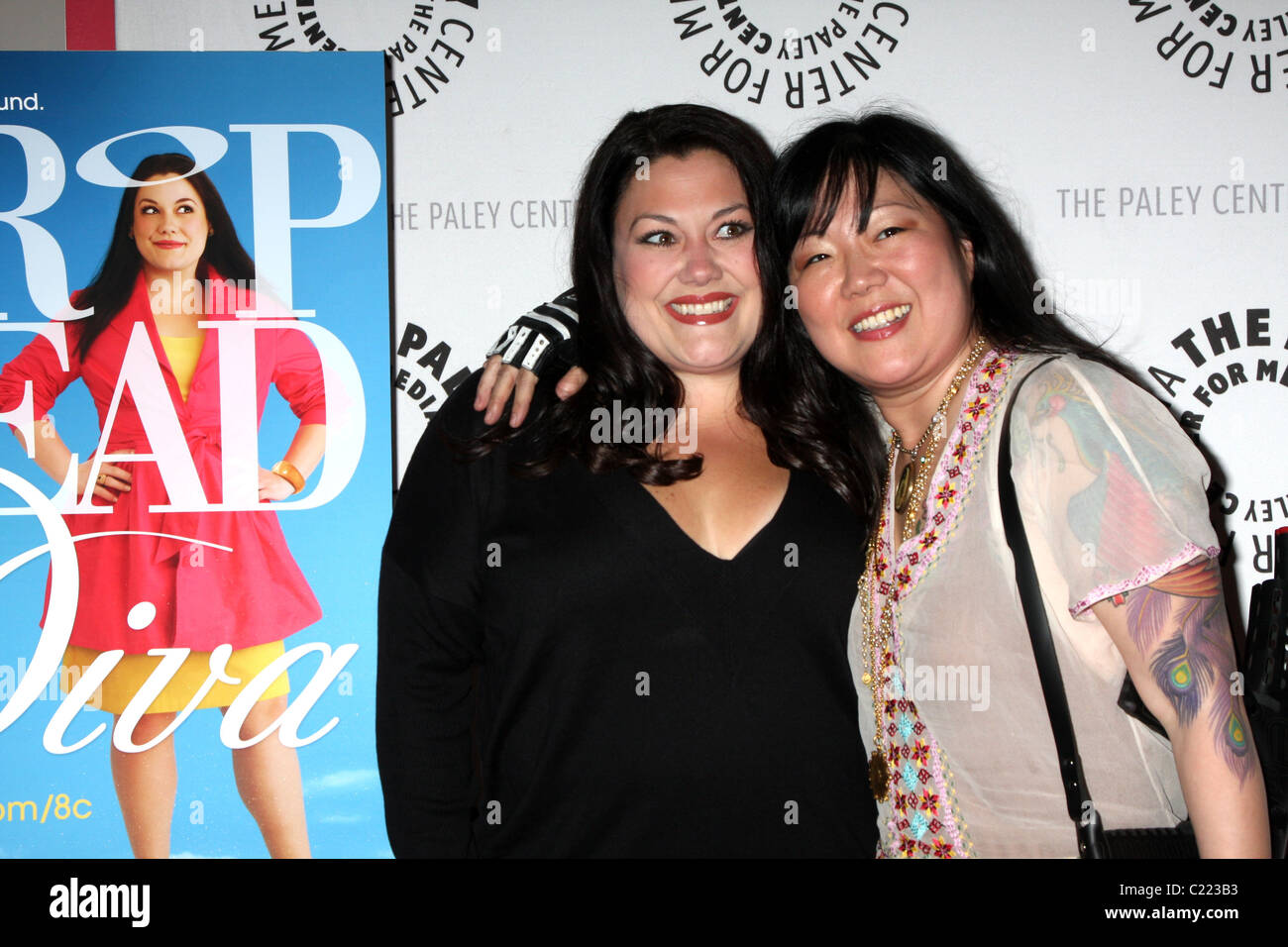 Brooke elliott and margaret cho drop dead diva season 1 finale at stock photo royalty free - Drop dead diva season 1 ...